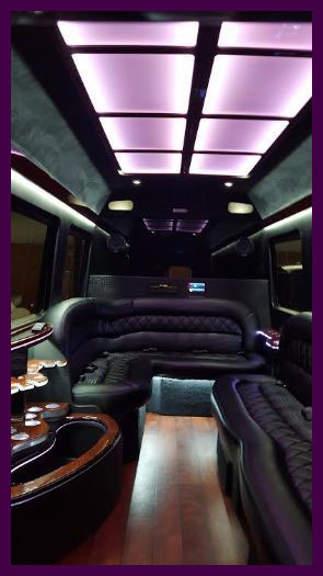 Sprint Limo interior